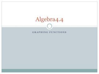 Algebra4.4
