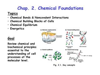 Chap. 2. Chemical Foundations