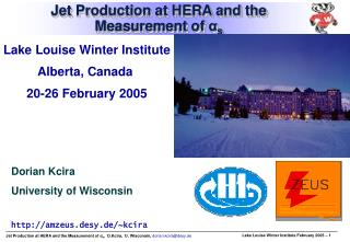 Jet Production at HERA and the Measurement of  α s