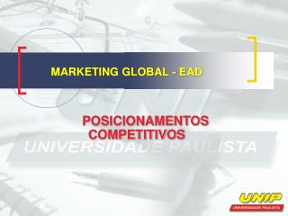 MARKETING GLOBAL - EAD