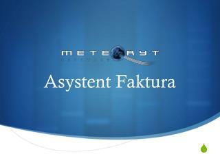Asystent Faktura