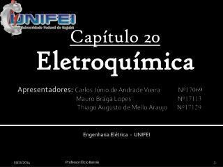 Capítulo 20 Eletroquímica