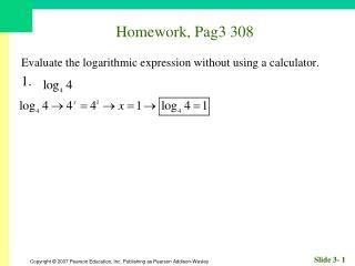 Homework, Pag3 308