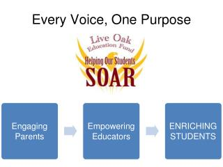 Every Voice, One Purpose