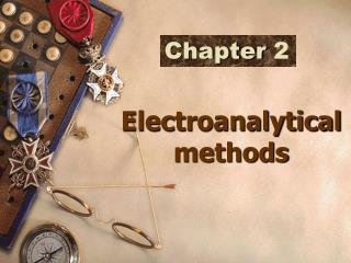 Electroanalytical methods