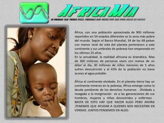 Burundi 68% de la población es pobre