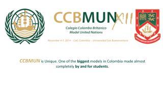 CCB MUN  XII