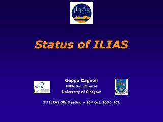 Status of ILIAS