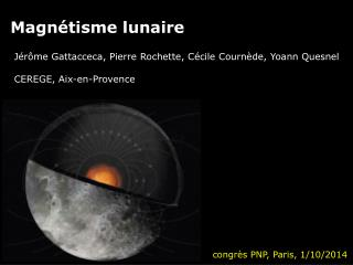 Magnétisme lunaire