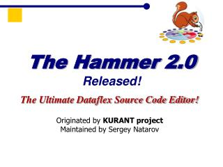 The Hammer 2.0 Released!