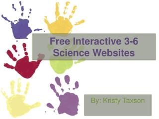 Free Interactive  3-6 Science Websites
