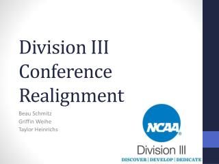 Division III Conference Realignment