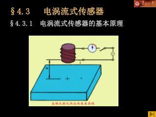 §4.3    电涡流式传感器