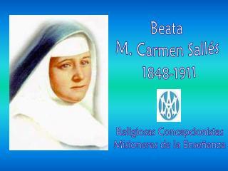 Beata  M. Carmen Sallés