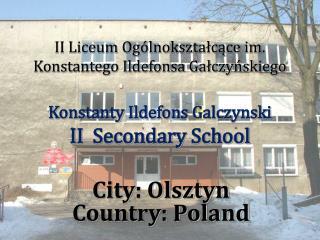 City: Olsztyn Country: Poland