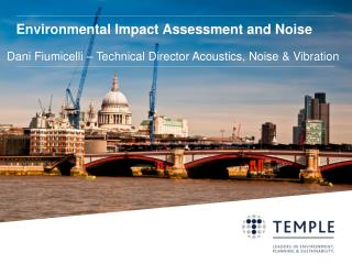 Environmental Impact Assessment and Noise