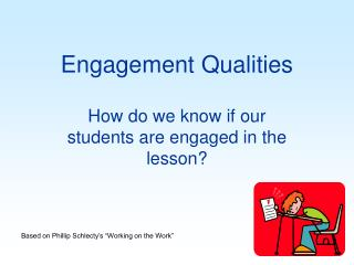 Engagement Qualities