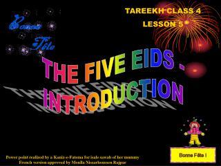 TAREEKH CLASS 4 LE SSON 5