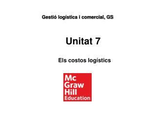 Els costos logístics
