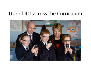 Use of ICT across the Curriculum