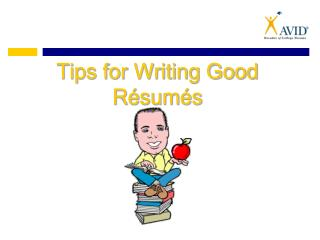 Tips for Writing Good R sum s