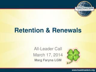 Retention & Renewals