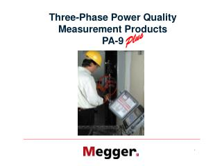 Three-Phase Power Quality  Measurement Products PA-9