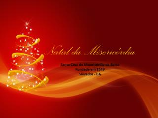Natal da Misericórdia