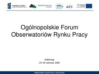 Ogólnopolskie Forum Obserwatoriów Rynku Pracy