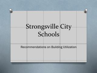 Strongsville City Schools