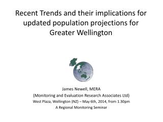 Recent Trends and their implications for updated population projections for Greater Wellington