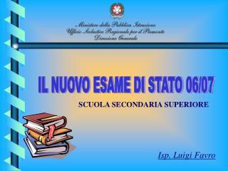 Isp. Luigi Favro