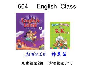 604     English  Class