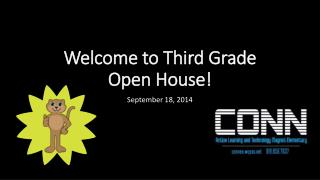Welcome to Third Grade Open House!