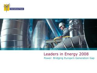 Leaders in Energy 2008