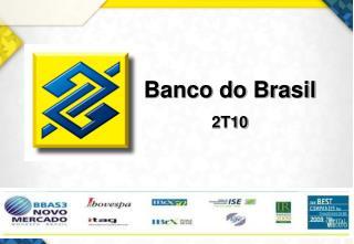 Banco do Brasil 2T10