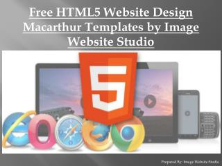Best HTML5 Website Design Macarthur Templates by IWS