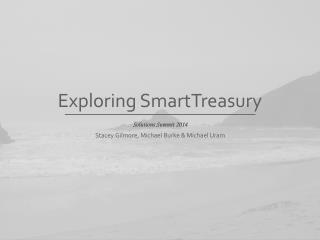 Exploring SmartTreasury