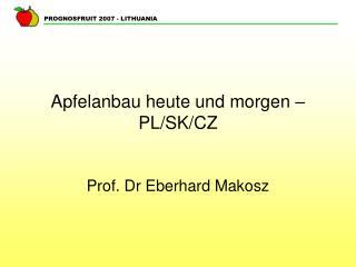 Apfelanbau heute und morgen – PL/SK/CZ