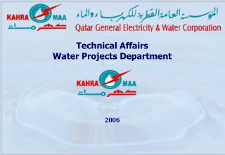 Technical Affairs Water Projects Department