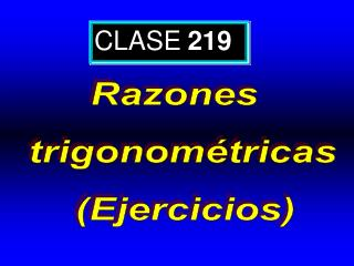 CLASE 219