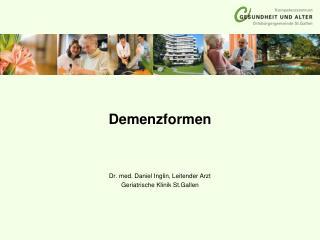 Demenzformen
