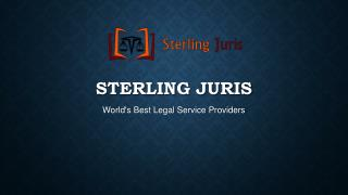 Sterling Juris- a leading law firms in the realm of trademar