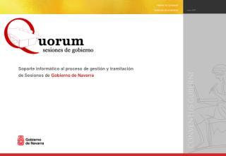 Contexto en el que se enmarca el proyecto Quorum