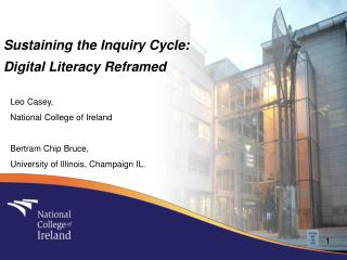 Sustaining the Inquiry Cycle:  Digital Literacy Reframed