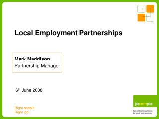 Local Employment Partnerships