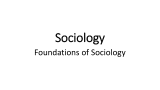 Social Conflict Theory