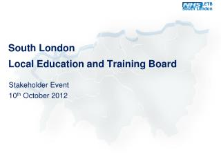 South London  Local Education and Training Board