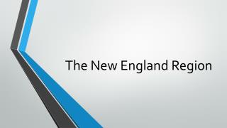 The New England Region