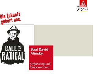 Saul David Alinsky